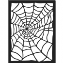 Stamperia - Antonis Tzanidakis - Mechanical Fantasy Collection - Thick Stencil -15x20cm - Spider Web